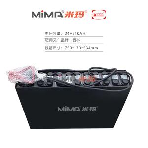 【迅启】西林CBD20H/CBD20KD叉车电池24V3pzb210叉车蓄电池电瓶组