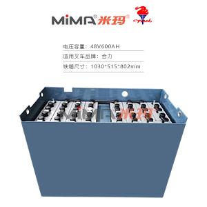 【火炬蓄电池】合力CPD20/25电瓶48V6Pzb600叉车电池组