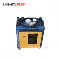 搬易通米玛电动叉车原装智能充电机48V50A蓄电池充电机