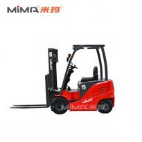 搬易通米玛电动叉车 1.5吨平衡重叉车 3吨四支点座驾式平衡重叉车