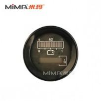 圆形电量表兼容CURTIS803仪表 电量表搬易通电动叉车配件
