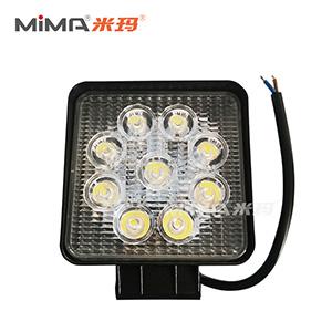 搬易通米玛电动叉车配件方形9珠LED大灯(厚款)DJ-ZM-02PJ